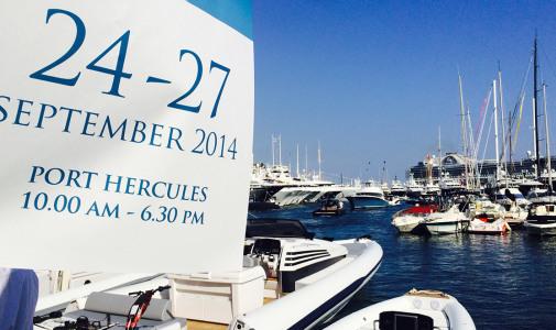 """Monaco Yacht Show<h6 style=""""color:#ddd;"""">24/09/2014 &#8211; 27/09/2014</h6>"""